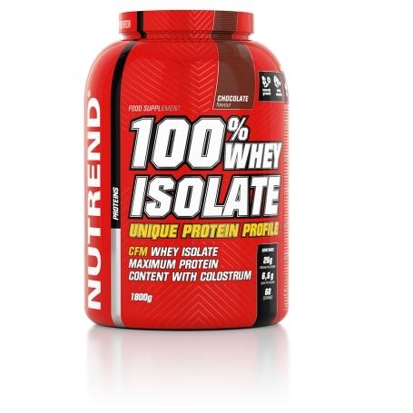 100% WHEY ISOLATE, 1800 g, čokoláda