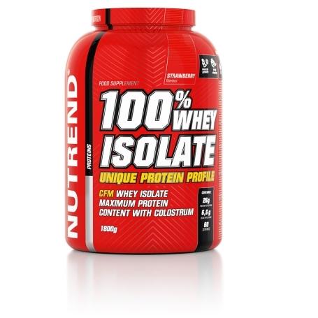 100% WHEY ISOLATE, 1800 g, jahoda