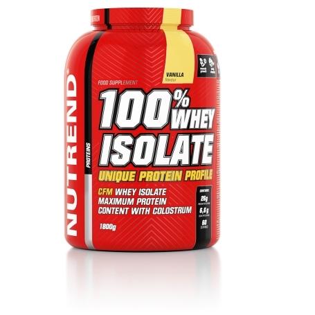 100% WHEY ISOLATE, 1800 g, vanilka