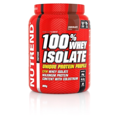 100% WHEY ISOLATE, 900 g, čokoláda
