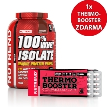 100% Whey Isolate + Thermobooster ZDARMA