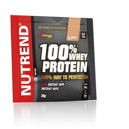 100% WHEY PROTEIN, 20x30 g, ledová káva