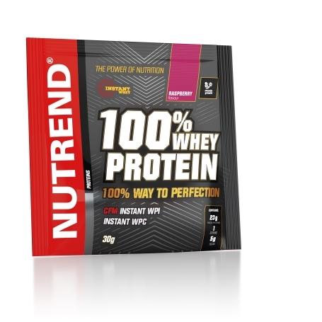 100% WHEY PROTEIN, 20x30 g, malina