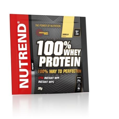 100% WHEY PROTEIN, 20x30 g, vanilka