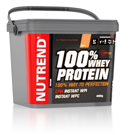 100% WHEY PROTEIN, 4000 g, biscuit