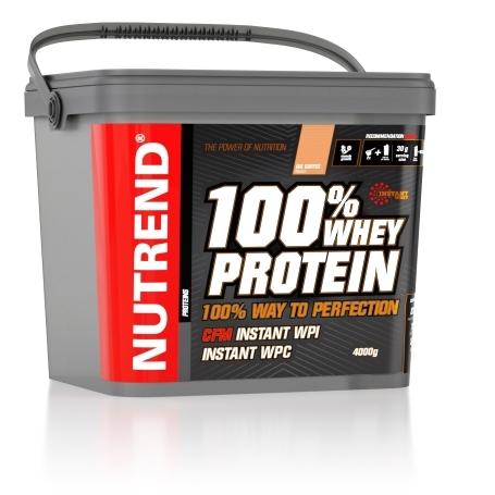 100% WHEY PROTEIN, 4000 g, ledová káva