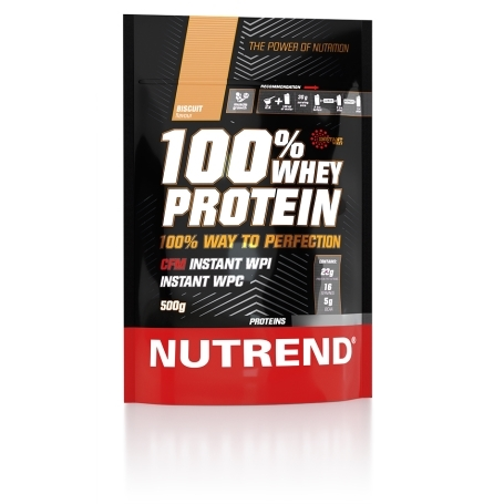 100% WHEY PROTEIN, 500 g, biscuit
