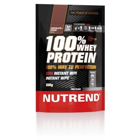 100% WHEY PROTEIN, 500 g, čokoláda+kakao