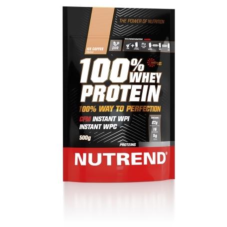 100% WHEY PROTEIN, 500 g, ledová káva