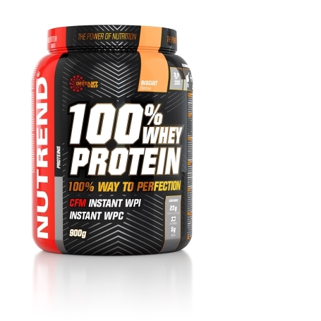 100% WHEY PROTEIN, 900 g, biscuit