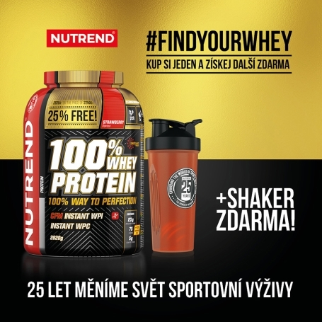 NUTREND - 100% WHEY PROTEIN + SHAKER