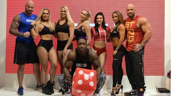 BodyPower expo v Birminghamu