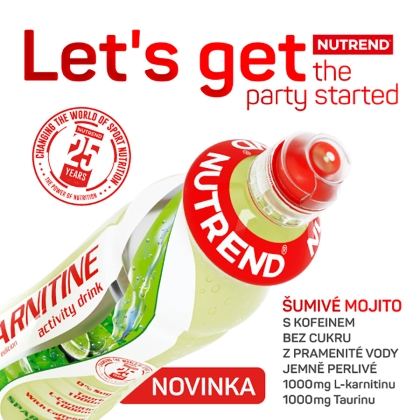 NUTREND CARNITINE ACTIVITY DRINK WITH CAFFEINEMOJITO