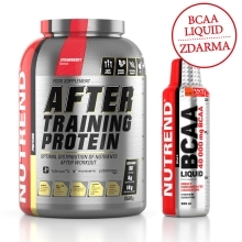 AFTER TRAINING PROTEIN 2520 g jahoda + BCAA LIQUID 500 ml