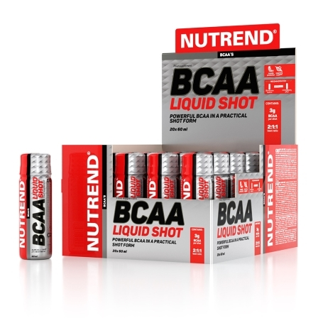 BCAA LIQUID SHOT, 20x60 ml,