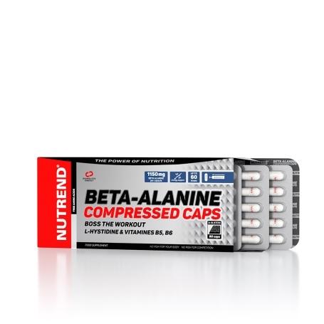 BETA-ALANINE COMPRESSED CAPS, 90 kapslí,