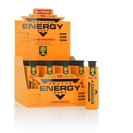 BRUTUS ENERGY SHOT, 20x 60 ml