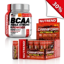 CARNIFORM SHOT 20x60 + BCAA Mega Strong 300g