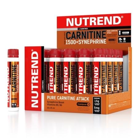 CARNITINE 1500 + SYNEPHRINE, 20x25 ml,