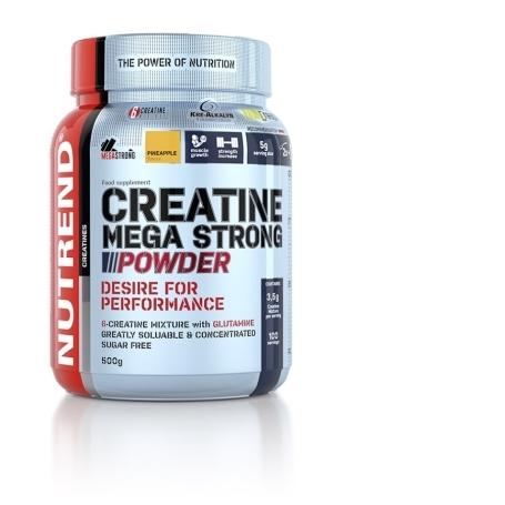 CREATINE MEGA STRONG POWDER, 500 g, broskev