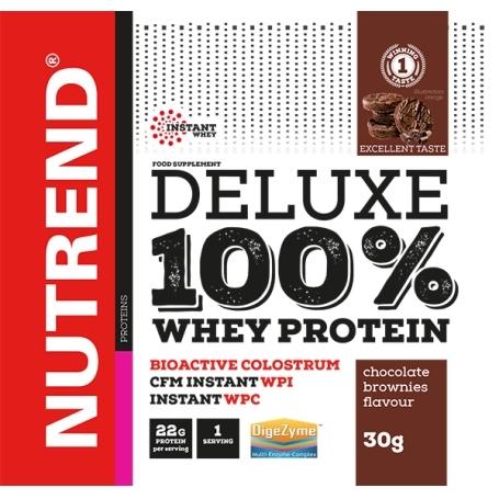 DELUXE 100% WHEY, 20x30 g, čokoládové brownies