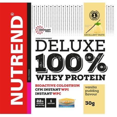 DELUXE 100% WHEY, 20x30 g, pudinková vanilka