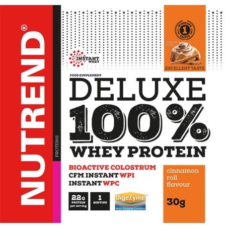 DELUXE 100% WHEY, 20x30 g, skořicový šnek