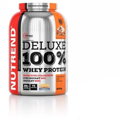 DELUXE 100% WHEY, 2250 g, skořicový šnek