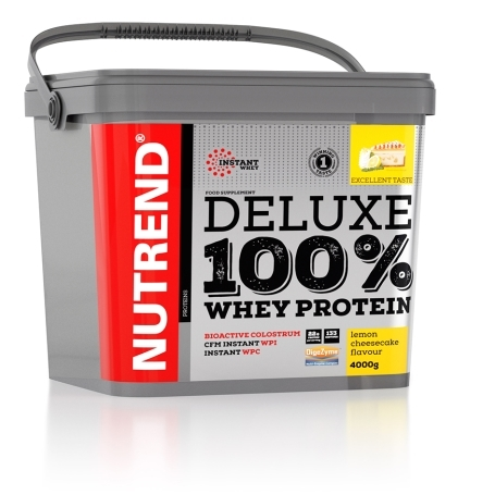 DELUXE 100% WHEY, 4000 g, citronový cheesecake