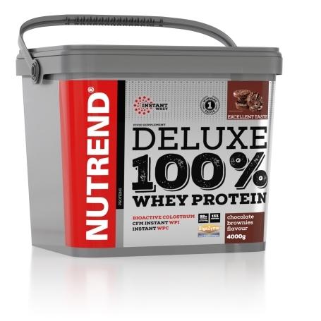 DELUXE 100% WHEY, 4000 g, čokoládové brownies