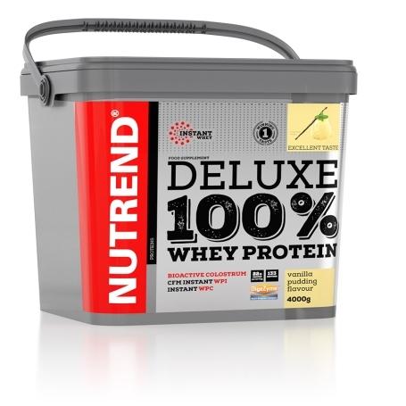 DELUXE 100% WHEY, 4000 g, pudinková vanilka