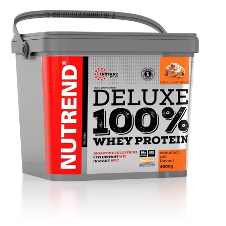 NUTREND - DELUXE 100% WHEY 4000g