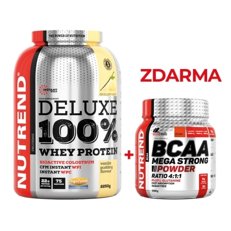 DELUXE 100% WHEY PROTEIN - Limitovaná akce
