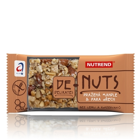 DeNuts, 35 g, pražená mandle + para ořech