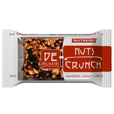 DeNuts CRUNCH, 35 g, lískový ořech