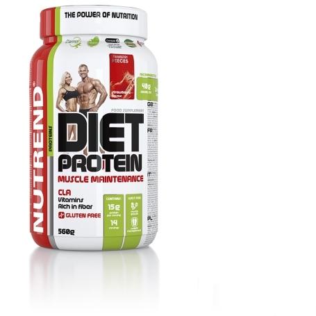 DIET PROTEIN, 560 g, ledová káva
