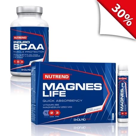 ENDURO BCAA + Magneslife 10x25ml