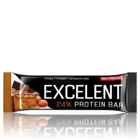 EXCELENT protein bar, 40 g, čokoláda s oříšky