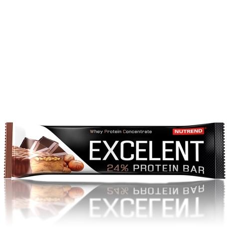 EXCELENT protein bar, 85 g, čokoláda s oříšky