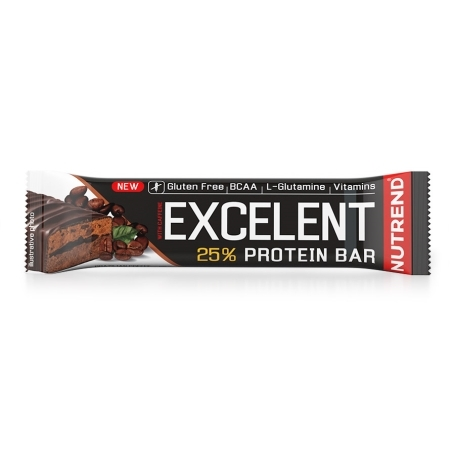 EXCELENT PROTEIN BAR DOUBLE WITH CAFFEINE