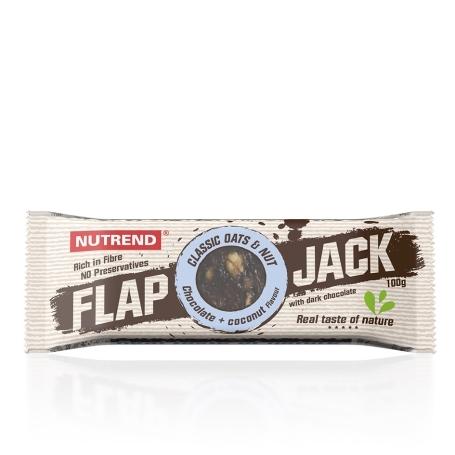 FLAPJACK, 100 g, čokoláda+kokos s hořkou čokoládou
