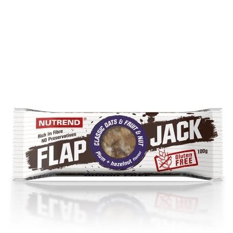 FLAPJACK GLUTEN FREE, 100 g, švestka+lískový ořech