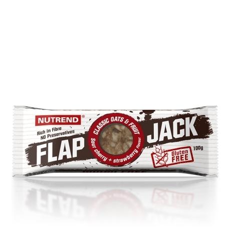 FLAPJACK GLUTEN FREE, 100 g, višeň+jahoda