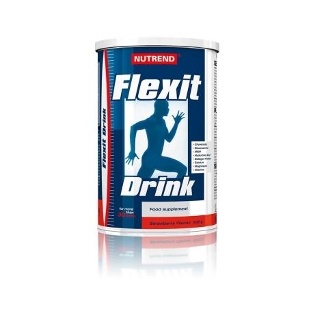 FLEXIT DRINK, 400 g, jahoda