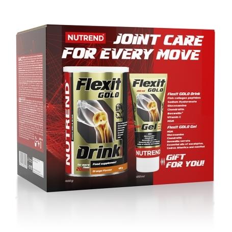 FLEXIT GOLD DRINK + FLEXIT GOLD GEL
