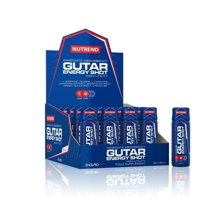 GUTAR ENERGY SHOT, 20x60 ml,
