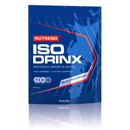 ISODRINX, 840 g, černý rybíz