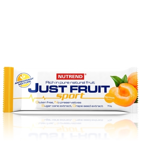JUST FRUIT SPORT, 70 g, meruňka
