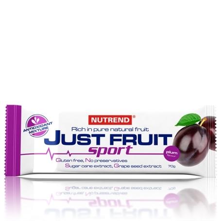 JUST FRUIT SPORT, 70 g, švestka