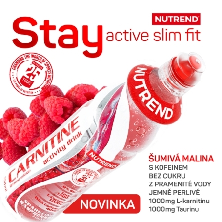 NUTREND CARNITINE ACTIVITY DRINK MALINA